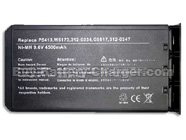 Dell  4500 mAh 9.6 V Inspiron 2200 Laptop Battery, Batteries