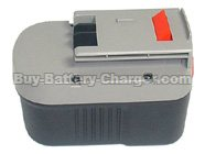 14.4 Volt BLACK & DECKER HP146F2B Power Tool Drill Batteries