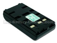 Ni-Cd, 6 V, 1800 mAh  JVC  GR-AX437 Camcorder Battery, Batteries
