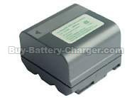 Ni-MH, 3.6 V, 5400 mAh  SHARP  VL-E680 Camcorder Battery, Batteries
