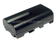 Li-ion, 7.2 V, 5500 mAh  SONY  NP-F970 Camcorder Battery, Batteries