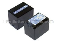 Li-ion, 7.2 V, 1500 mAh  SONY  DCR-SR75E Camcorder Battery, Batteries