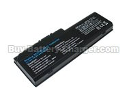 TOSHIBA  4400 mAh 10.8 V Equium P200-178 Laptop Battery, Batteries