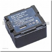 Li-ion, 7.4 V, 1400 mAh  PANASONIC  VW-VBG130-K Camcorder Battery, Batteries