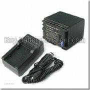 Li-ion, 7.4 V, 1400 mAh  CANON  BP-819 Camcorder Battery, Batteries
